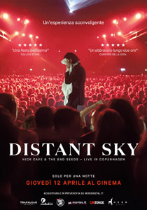 Distant Sky. Nick Cave & The Bad Seeds - Live in Copenaghen2018