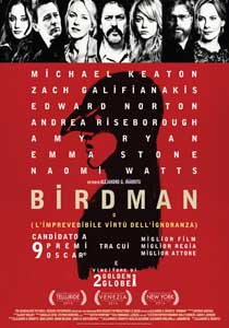 Birdman o L'imprevedibile virt? dell'ignoranza2014